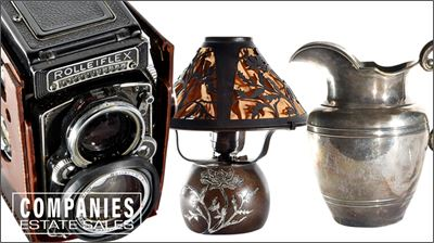 Sterling Silver, Coins, Vintage Cameras & Objects of Interest