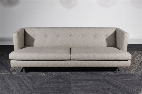 CB2 Two Cushion Sofa
