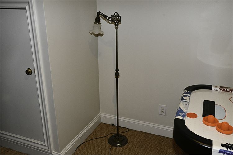 Vintage Cast Iron Floor Lamp