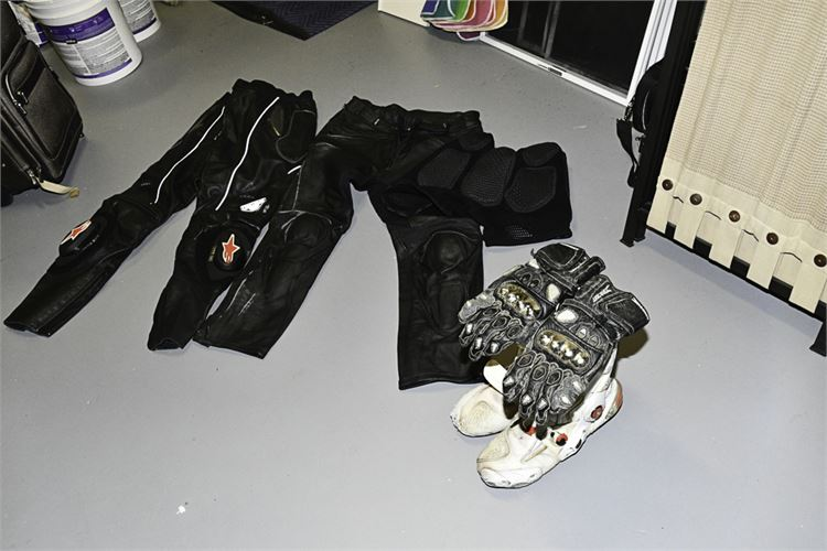 Lot of Quality Motorcycle Gear